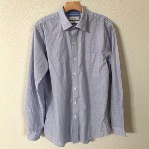 Van Heusen Slim Fit Lightweight Dress Shirt Size M